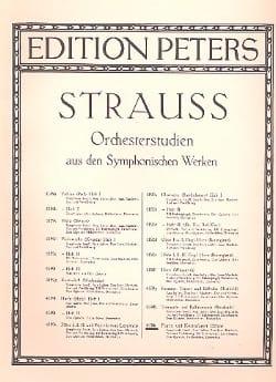 Richard Strauss - Orchesterstudien - Fagott / Kontrafagott - Sheet Music - di-arezzo.com