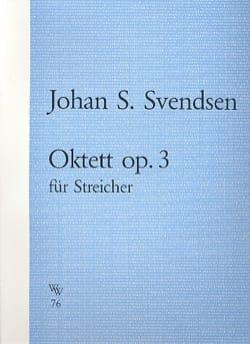 Oktett in A major op.3 Johan S. Svendsen Partition laflutedepan