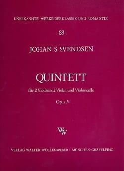 Johan Severin Svendsen - Streichquintett op. 5 –Stimmen - Partition - di-arezzo.fr