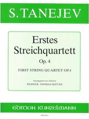 Streichquartett Nr. 1 op. 4 -Stimmen - laflutedepan.com