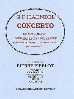 HAENDEL - Oboe Concerto in G minor - Sheet Music - di-arezzo.co.uk