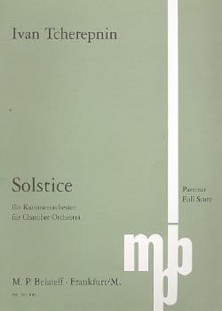 Solstice – Partitur - Ivan Tcherepnine - Partition - laflutedepan.com