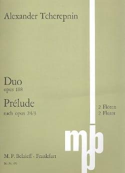 Duo op. 108 / Prélude nach op. 24/3 - 2 Flöten laflutedepan