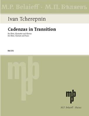 Cadenzas In Transition - Ivan Tcherepnine - laflutedepan.com