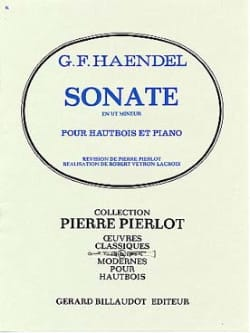 HAENDEL - C minor Sonata for Oboe - Sheet Music - di-arezzo.co.uk