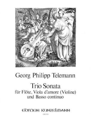 Triosonate - Flöte Viola d'amore Violine u. Bc - laflutedepan.com
