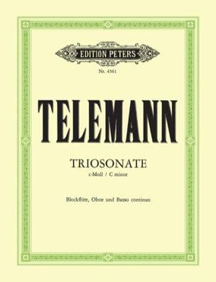 Triosonate c-moll TWV 42 : c2 -Blockflöte Oboe Bc laflutedepan