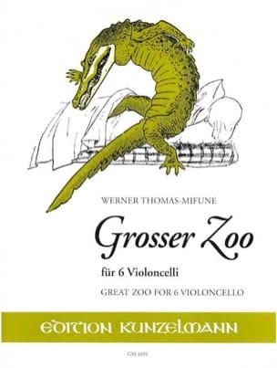 Werner Thomas-Mifune - Grosser Zoo - Sheet Music - di-arezzo.co.uk