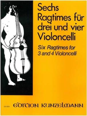 6 Ragtimes Werner Thomas-Mifune Partition Violoncelle - laflutedepan