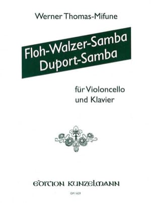 Werner Thomas-Mifune - Floh-Walzer-Samba / Duport-Samba - Partition - di-arezzo.fr