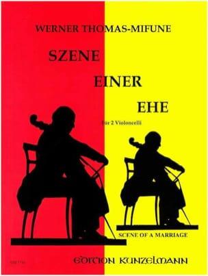 Werner Thomas-Mifune - Szenen einer Ehe - Partition - di-arezzo.fr
