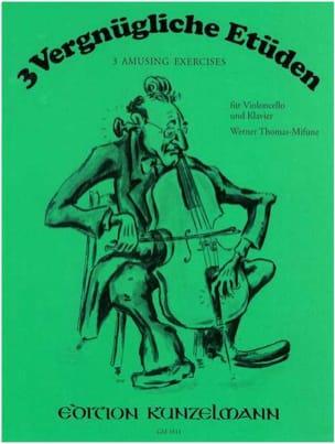 3 Vergnügliche Etüden - Cello Klavier - laflutedepan.com