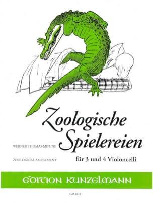 Zoologische Spielereien Werner Thomas-Mifune Partition laflutedepan