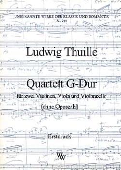 Quartett G-Dur –Partitur + Stimmen - laflutedepan.com
