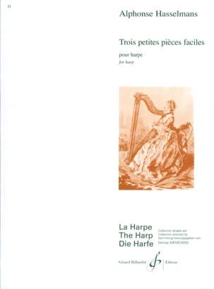Alphonse Hasselmans - 3 Petites pièces faciles - Partition - di-arezzo.fr