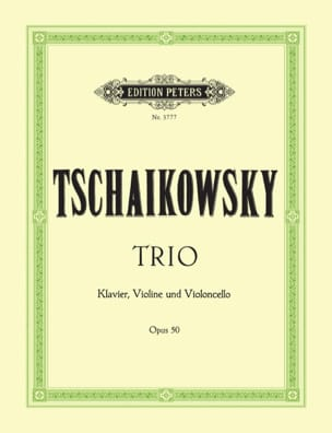 TCHAIKOVSKY - Trio op. 50 - Stimmen - Sheet Music - di-arezzo.co.uk