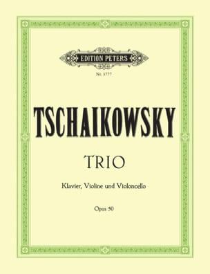 TCHAIKOVSKY - Trio op. 50 - Stimmen - Partition - di-arezzo.fr