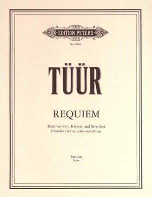 Requiem - Partitur - Erkki-Sven Tüür - Partition - laflutedepan.com