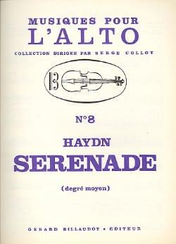 Sérénade - Alto - HAYDN - Partition - Alto - laflutedepan.com