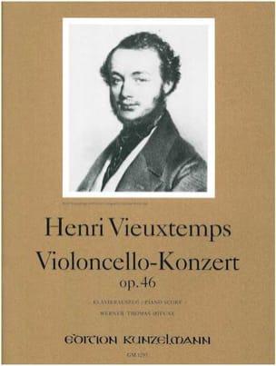 Concerto Violoncelle, Op. 46 VIEUXTEMPS Partition laflutedepan
