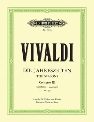 VIVALDI - Konzert The Autunno op. 8 Nr. 3 - Noten - di-arezzo.de