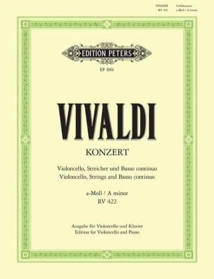 Concerto en la mineur RV 422 / PV 24 - laflutedepan.com