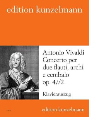Concerto op. 47 n° 2 -2 Flauti piano - VIVALDI - laflutedepan.com