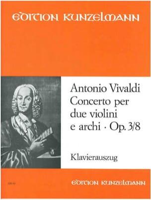 Concerto op. 3 n° 8 - 2 Violinen Klavier VIVALDI laflutedepan