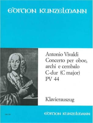 VIVALDI - Concerto for oboe in C-Dur Pv 44 F. 7 No. 4 - Oboe Klavier - Sheet Music - di-arezzo.com