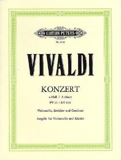 Concerto en la Mineur Rv 418 - Pv35 - laflutedepan.com