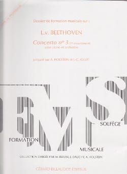 Holstein A. / Jollet J.-C. - Dossier de FM - Prof - Beethoven Concerto n° 3 - Partition - di-arezzo.fr