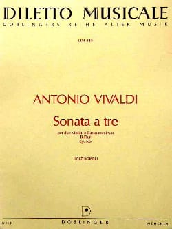 VIVALDI - Sonata to be B-Dur op. 5 n ° 5 - Sheet Music - di-arezzo.com
