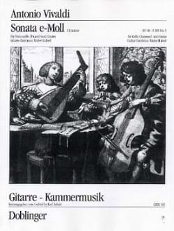 VIVALDI - Sonate Nr. 5 E-Moll - Partition - di-arezzo.fr