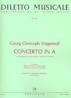 Concerto in A - Georg Christoph Wagenseil - laflutedepan.com