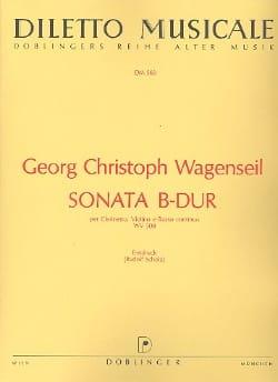 Georg Christoph Wagenseil - Sonata B-Dur - Klarinette Violine u. Bc - Sheet Music - di-arezzo.com