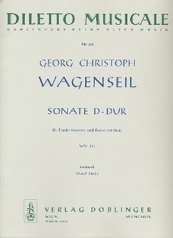 Sonate D-Dur WV 513– Flöte und Bc - laflutedepan.com