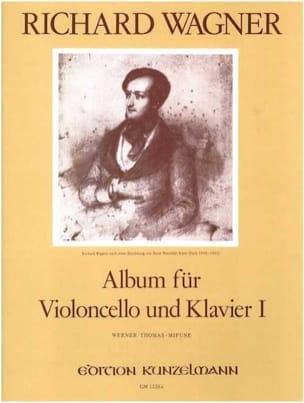 Album Für Violoncello Volume 1 WAGNER Partition laflutedepan
