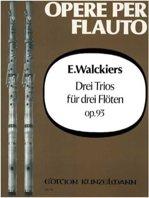 3 Trios op. 93 Eugene Walckiers Partition laflutedepan
