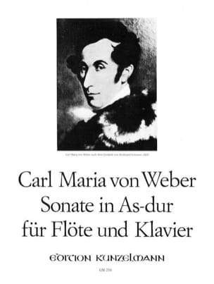 Carl Maria von Weber - Sonata in As-Dur for Flute and Klavier - Sheet Music - di-arezzo.co.uk
