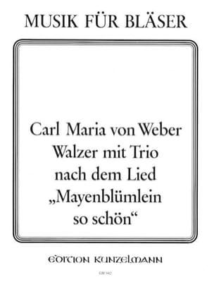 Carl Maria Von Weber - Walzer Mit Trio - Octuor A Vents - Partition - di-arezzo.fr