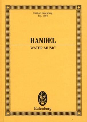 HAENDEL - Wassermusik - Water Music - Sheet Music - di-arezzo.co.uk