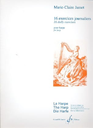 Marie-Claire Jamet - 16 Daily exercises for harp - Sheet Music - di-arezzo.co.uk