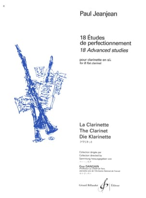 Paul Jeanjean - 18 Advanced Studies - Sheet Music - di-arezzo.co.uk