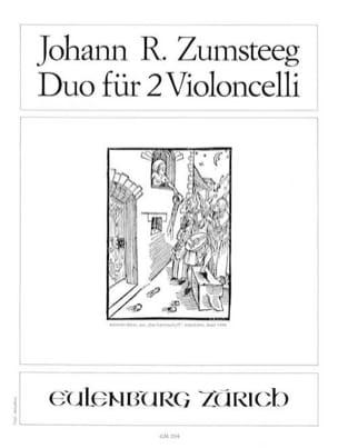 Johann Rudolf Zumsteeg - Duo in C-Dur for 2 Violoncelli - Sheet Music - di-arezzo.com