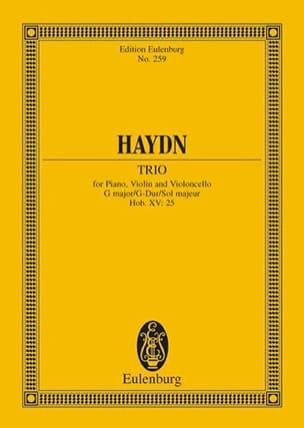 Klavier-Trio G-Dur - HAYDN - Partition - laflutedepan.com