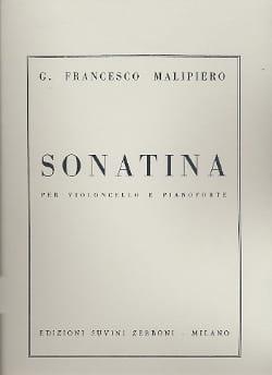 Sonatina – Violoncelle - Gian Francesco Malipiero - laflutedepan.com