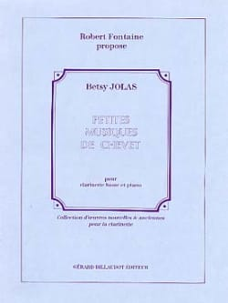 Betsy Jolas - Petites musiques de chevet - Partition - di-arezzo.fr