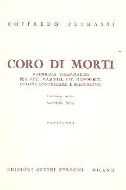 Coro di Morti – Partitura - Goffredo Petrassi - laflutedepan.com