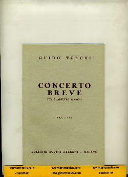 Guido Turchi - Concerto breve - Partitura - Partition - di-arezzo.fr
