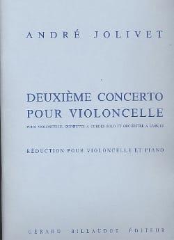 Concerto pour violoncelle n° 2 - Solo André Jolivet laflutedepan